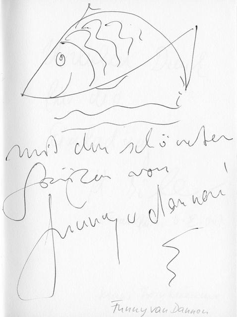 Funny van Dannen im Gästebuch vom Blauen Sofa