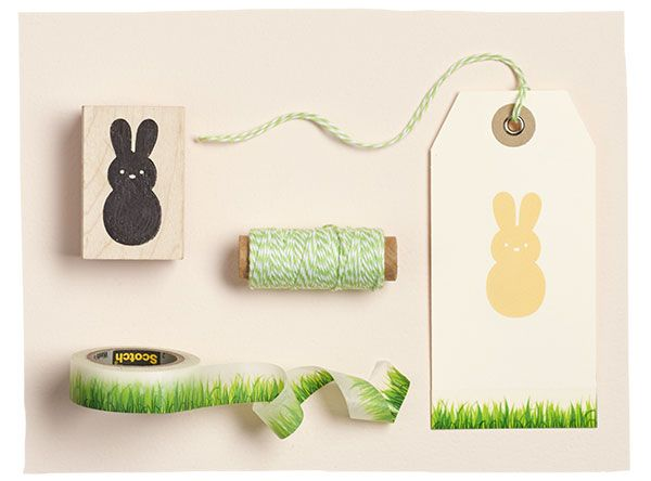 71 best spring into easter images on pinterest alphabet spring into paper source for supplies to make your own bunny gift tags negle Gallery