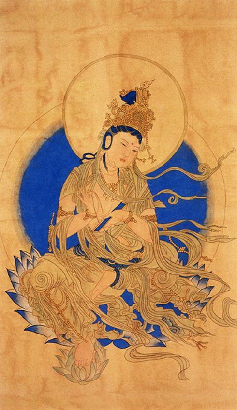 敦煌 西夏 普贤菩萨 (Dunhuang Xixia: Samantabhadra)