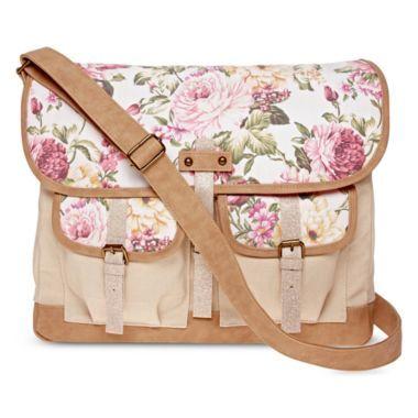 Olsenboye® Floral Messenger Shoulder Bag 104