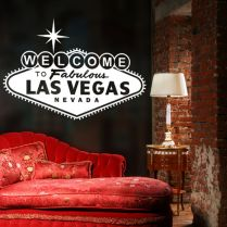 Welcome To Las Vegas Wall Decal