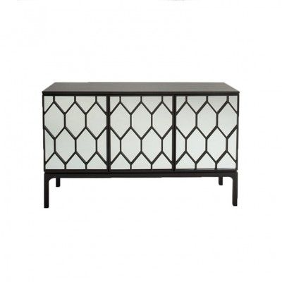 A particularly unique and wonderfully geometrically patterned Sideboard - 'Geo' by  Liang & Eimil #4livinguk