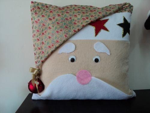 Como hacer cojines navide os navidad cojines y edredones - Como hacer edredones ...