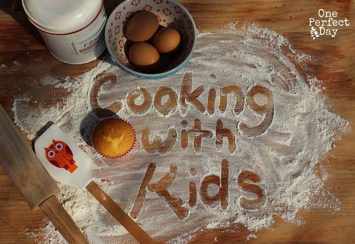 Tips to encourage kids in the kitchen