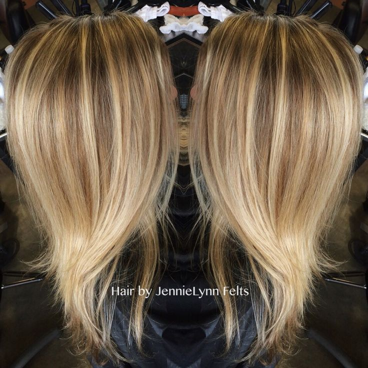 Dimensional Color With A Full Foil Highlight Summer Hair