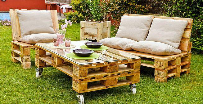 Готовая мебель из паллет в наличии: диваны, кресла, столы и журнальные столики