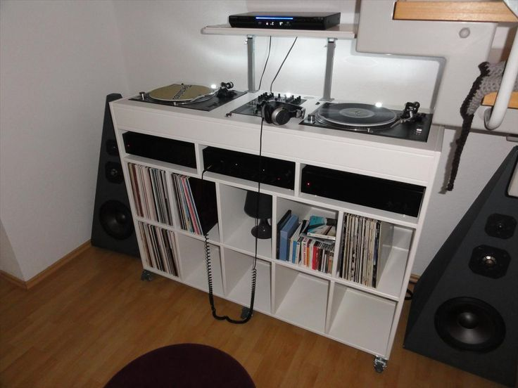 Dj Furniture With The Wheels With Lp Rek Ikea