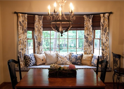 32 Best Dining Room Images On Pinterest  Dining Rooms Dining Cool Dining Room Window Treatments Design Inspiration