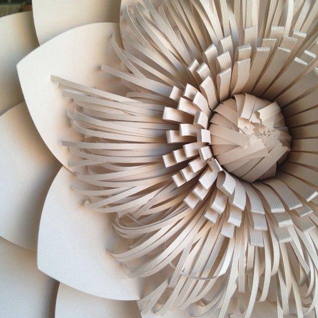 Flores de papel de PaperShik.