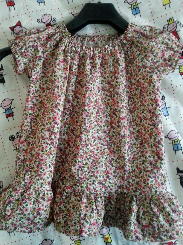 Sweet dress for a baby girl.