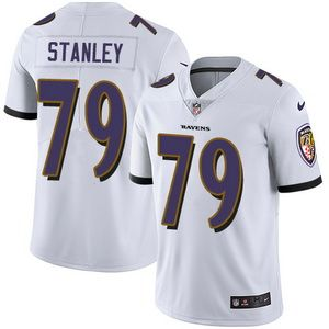 Nike Ravens #79 Ronnie Stanley White Men's Stitched NFL Vapor Untouchable Limited Jersey