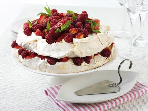 Very Berry Aussie Pavlova Layer Cake, summer recipes