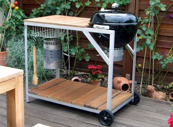 Anyone Know Of A Weber Kettle Table Mod The Bbq