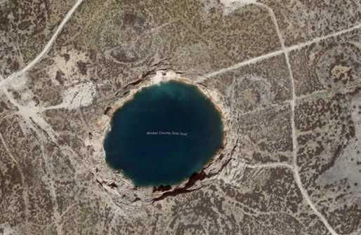 Just days after a massive sinkhole opened up in the Ottawa downtown core, scientists are now warning that two giant and rapidly expanding sinkholes in Texas are at risk of collapsing into each other.