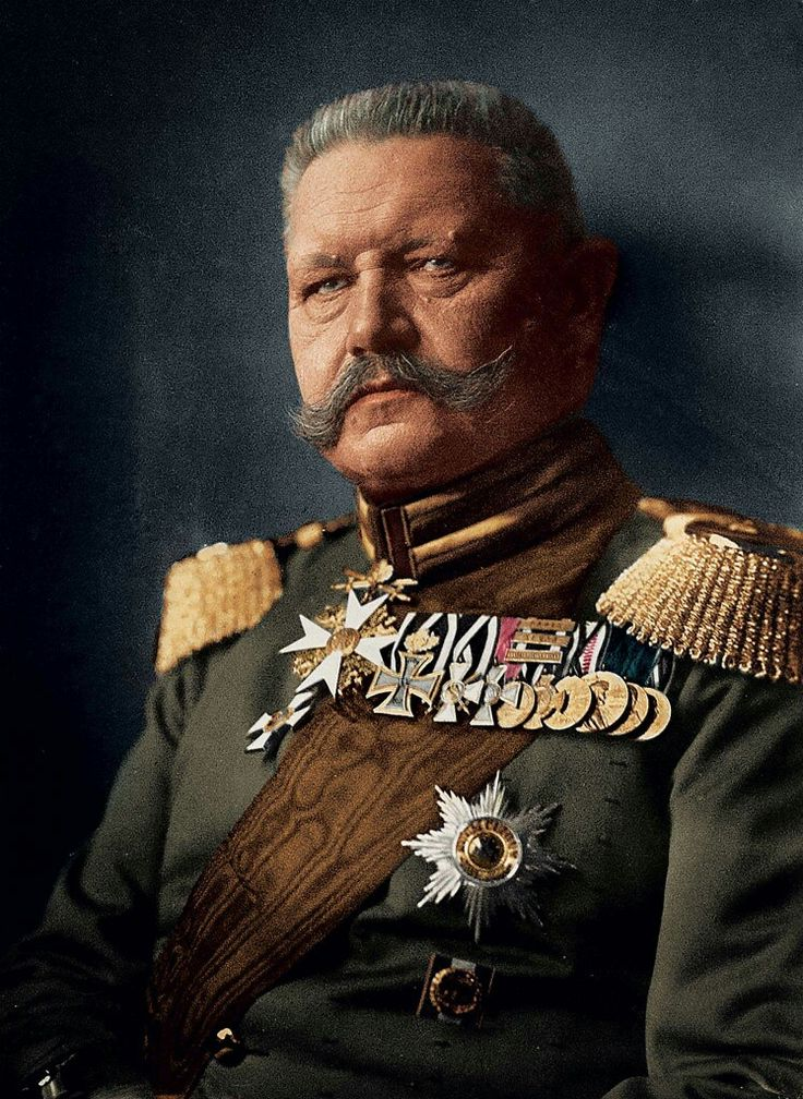 Paul Ludwig Hans Anton von Hindenburg known generally as Paul von Hindenburg (2 October 1847 – 2 August 1934) was a German military officer, statesman, and politician who served as the second President of Germany from 1925–34.