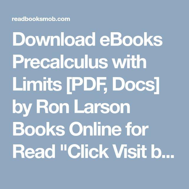 Precalculus With Limits Pdf | brandforesight co