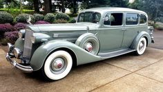 A very beautiful 1937 Packard 508 V 12 Limousine .