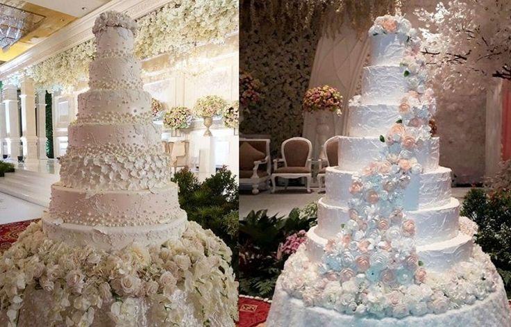 Sesuaikan Desain Kue Pengantin dengan Konsep Pernikahanmu