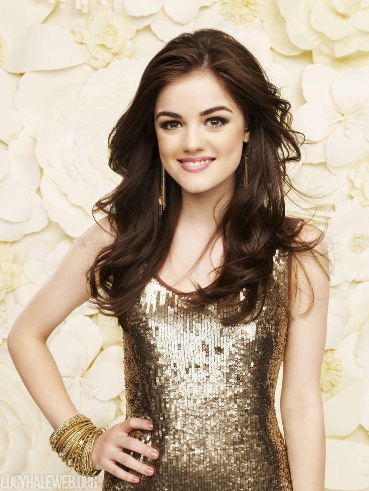 Aria Montgomery (Byron and Ella's daughter, Mike's sister, Spencer, Emily, Hanna, and Alison's friend, Mona's stalkee, Jason's ex-complication, and Ezra's girlfriend)