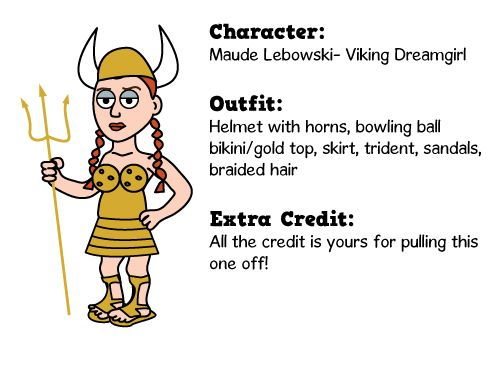 Dare I include a costume contest? This could be crazy. altdaily.com has a character guide that makes costumes easy to assemble. vikingmaude