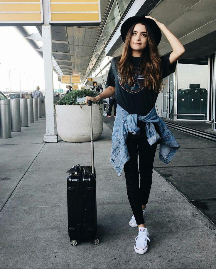 The beautiful Tess Christine  fashion, travel, Airport