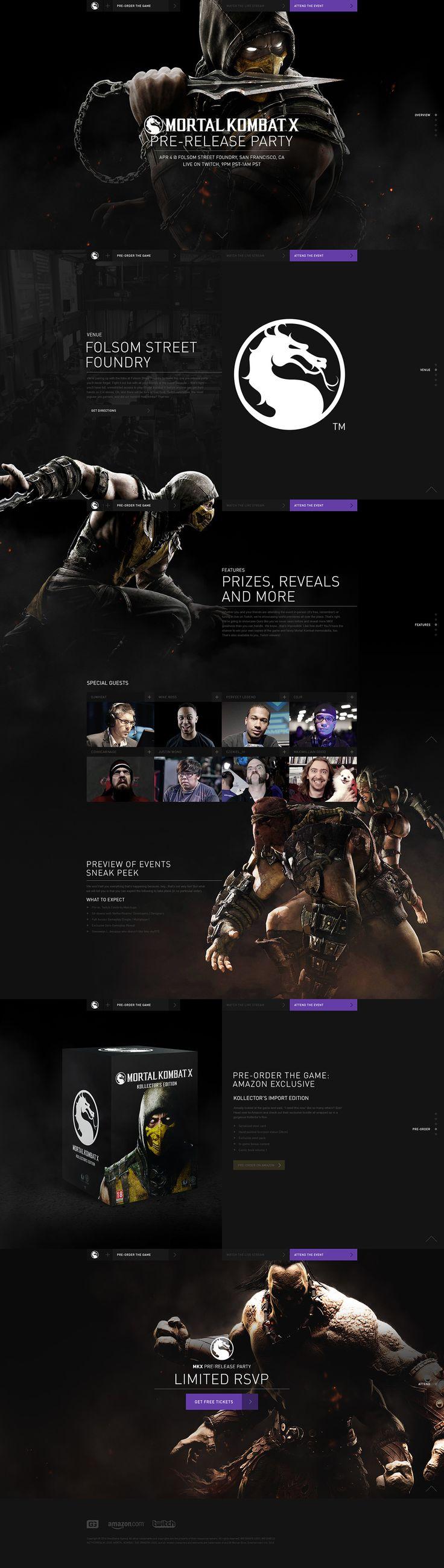 Mortal Kombat X on Behance