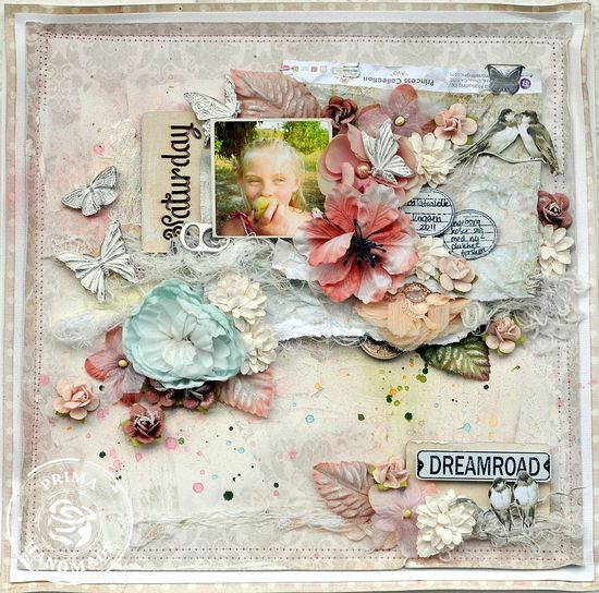 Presenting: The Princess Collection by Jodie Lee-Dream Layout by Lene Bjornerud for Prima
