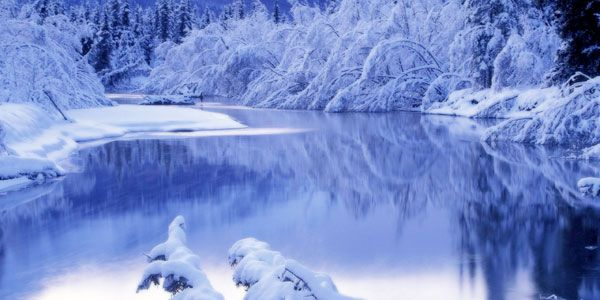 20 Free Winter Desktop Backgrounds