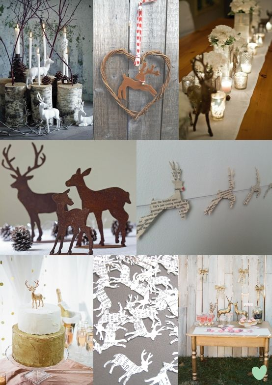 17 Best Images About Reindeer Themed Wedding On Pinterest