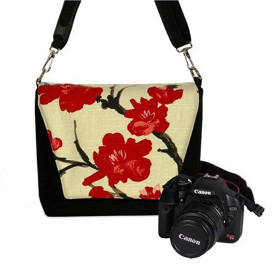 Best camera bags & most comfy camera straps for your Digital SLR Camera Bag/ Purse by janinekingdesigns, $89.99