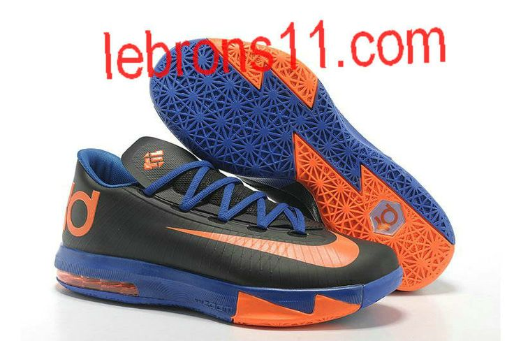 Buy Nike Kevin Durant KD 6 VI Black-Orange/Royal Blue For Sale Authentic  from Reliable Nike Kevin Durant KD 6 VI Black-Orange/Royal Blue For Sale  Authentic ...