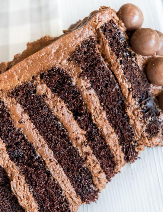 Шоколадный торт-мусс с шоколадным фундуком