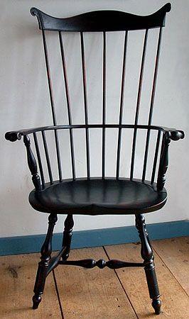 Lancaster County Combback Windsor Arm Chair