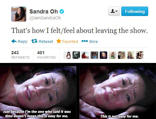 DON'T DO THIS TO ME. I don't know how to survive without Cristina Yang.
