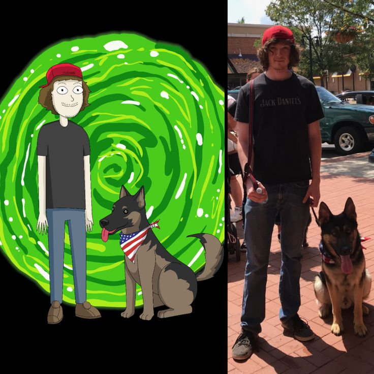 I commissioned a Rick and Morty style picture of my dog and myself and it turned out amazing. Found the artist here on Reddit and wanted to share his latest work.
