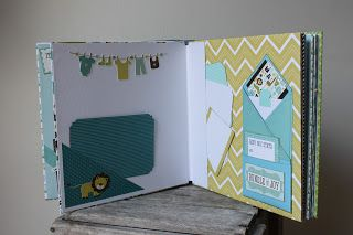 "Kulricke with 100pscrapbooking: Echo Park Paper Bundle of Joy ""Boy"" Photo Album"