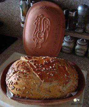 Pečení chleba v římském hrnci
