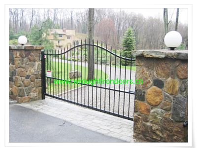 69 best Fences and gates images on Pinterest | Garden fencing ... Fence And Gates Home Designs Ta E A on