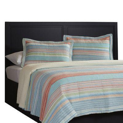 Beach Stripe Twin Bedding Set