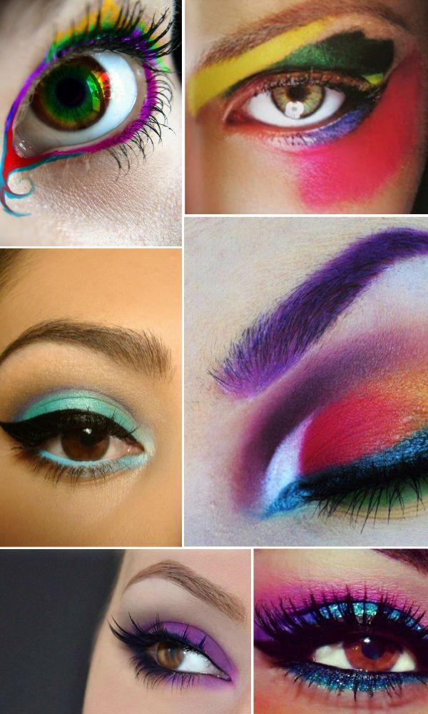 ¡Maquillajes coloridos, para las chicas más arriesgadas! #Maquillaje #MaybellineNewYork #MaybellineVenezuela
