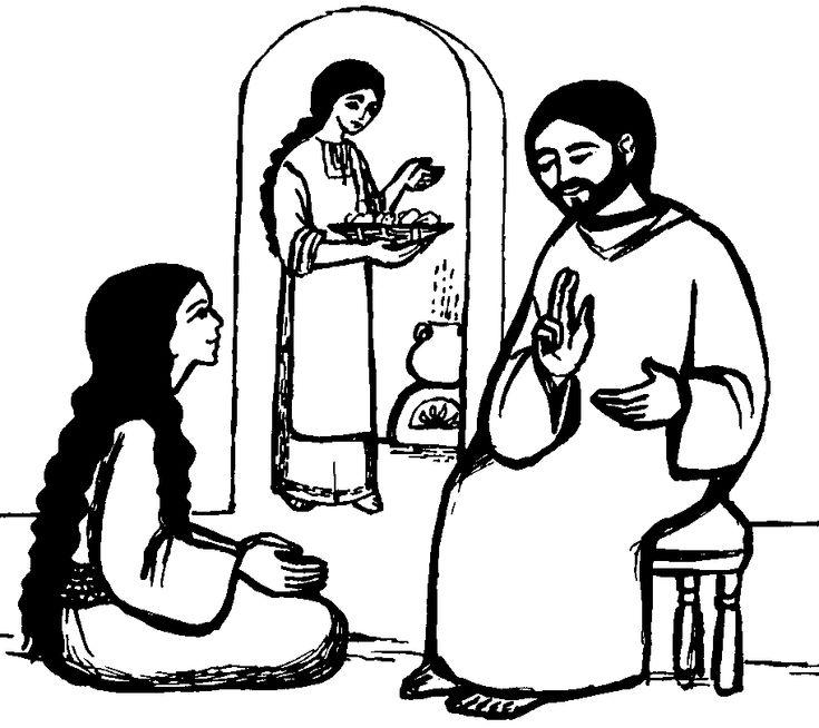 19 best Sunday School: Mary, Martha, and Lazarus images on