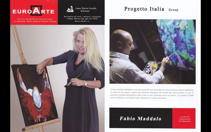 Fabio Maddalo  EuroArte N°22  Lug-Sett 2015