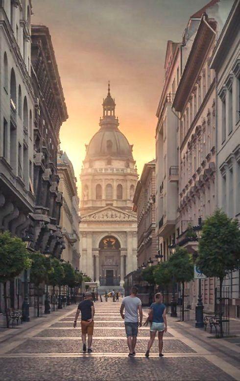 Basílica de St. Stephen's, Budapest, Hungria