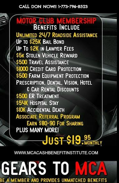 Clearly everyone is switching to MCA for their benefits..Have you switched yet?? www.mcacashbenefitinstitute.com