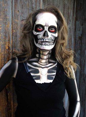 21 best Make Up- Skelletons images on Pinterest | Halloween ideas ...