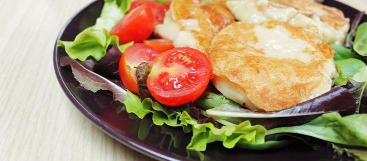 Tomino (o mozzarella vegan alla piastra)