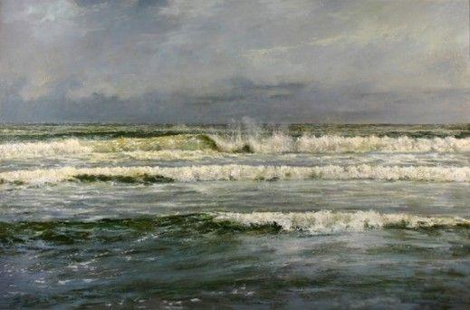 Morze przed sztormem -by  Wojciech Górecki, another artist who must ooze talent