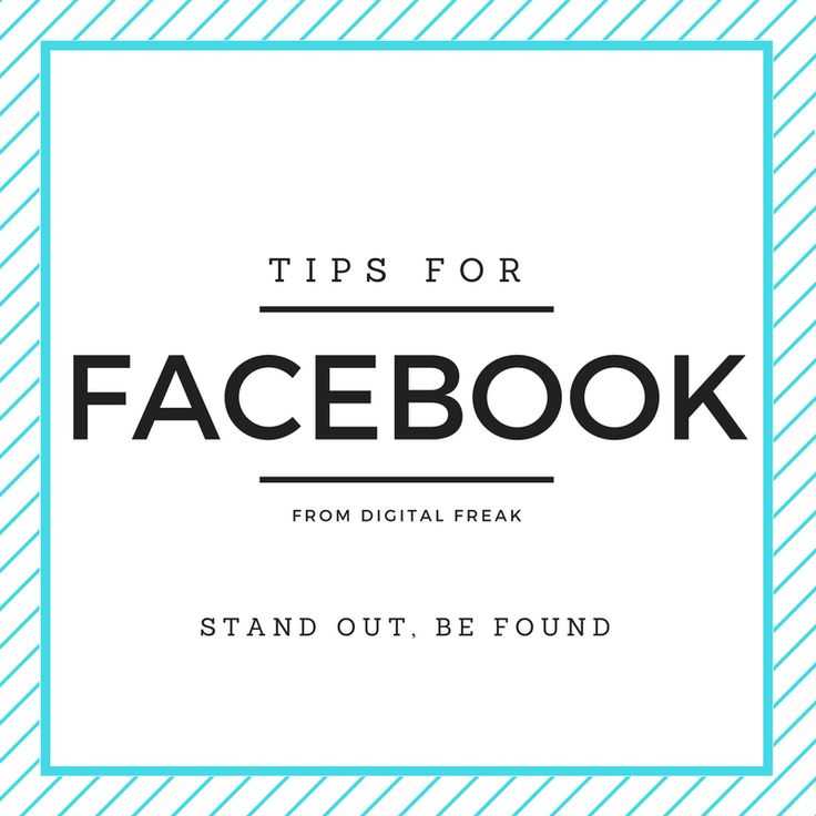 Learn how to maximise your use of Facebook for your business! #DigitalFreak