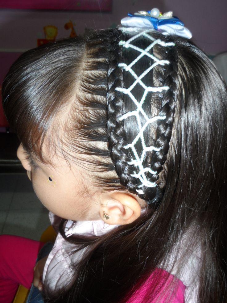 35 best images about peinados infantiles on pinterest - Peinados de ninas ...