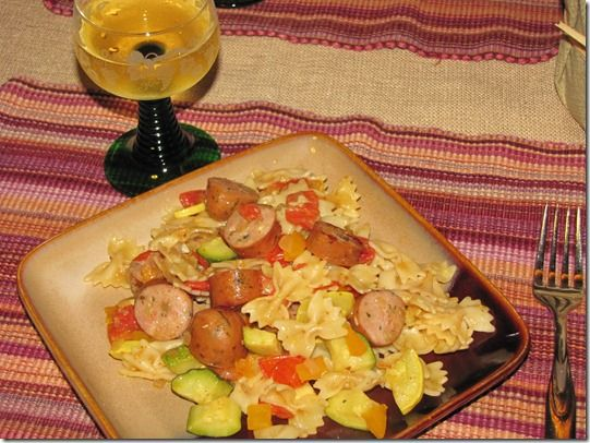 Easy Fall Skillet Dinner recipe with Hillshire Farm #GourmetCreations